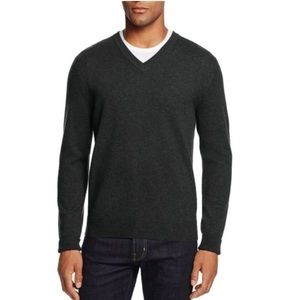 Tahari Sweaters | Mens Blue 100 Cashmere Sweater By Large